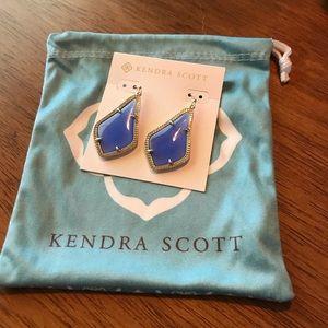 Kendra Scott Alex Earrings Periwinkle Blue